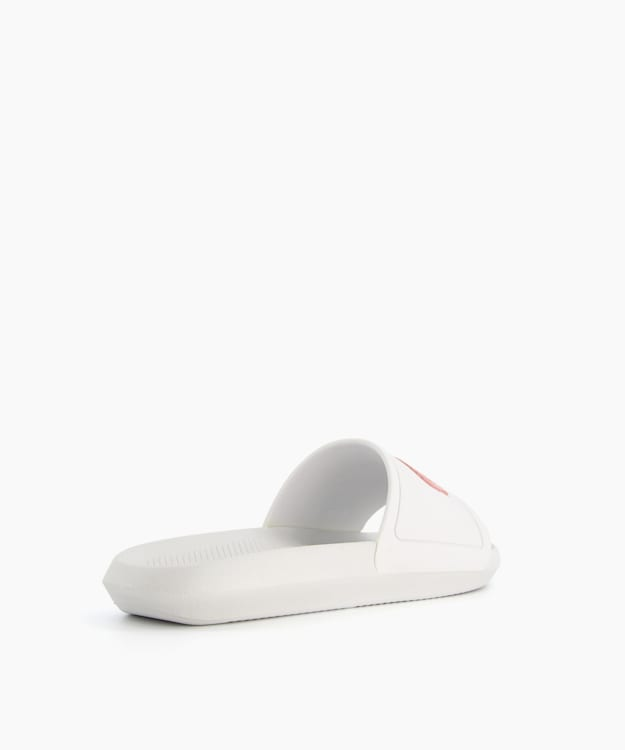 CROCCO SLIDER, White, medium