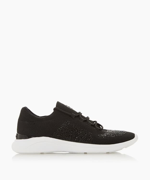 EASY LACE UP - Black