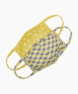 YOUNGMINDS MASK, Yellow, small