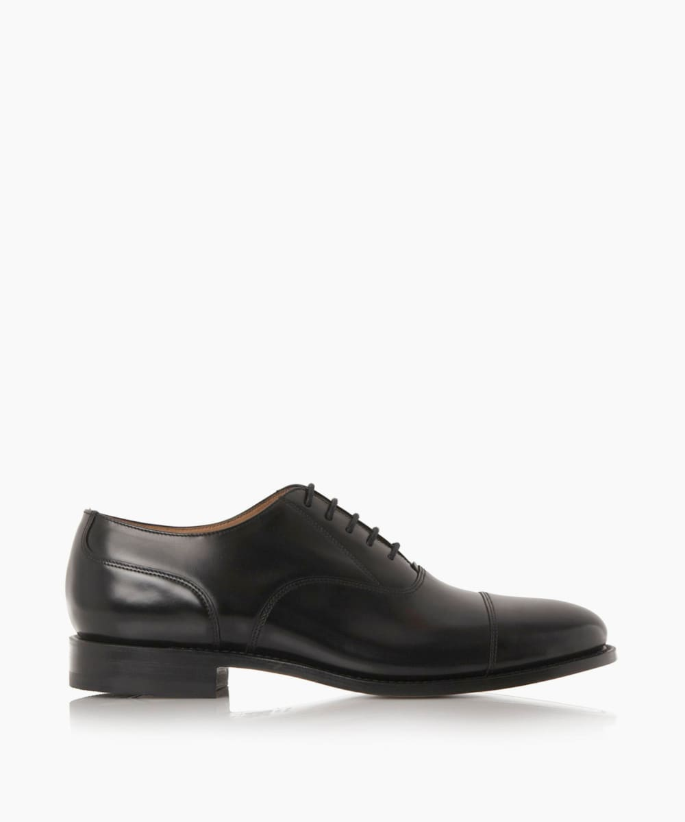 Toe Cap Detail Smart Oxford Shoes