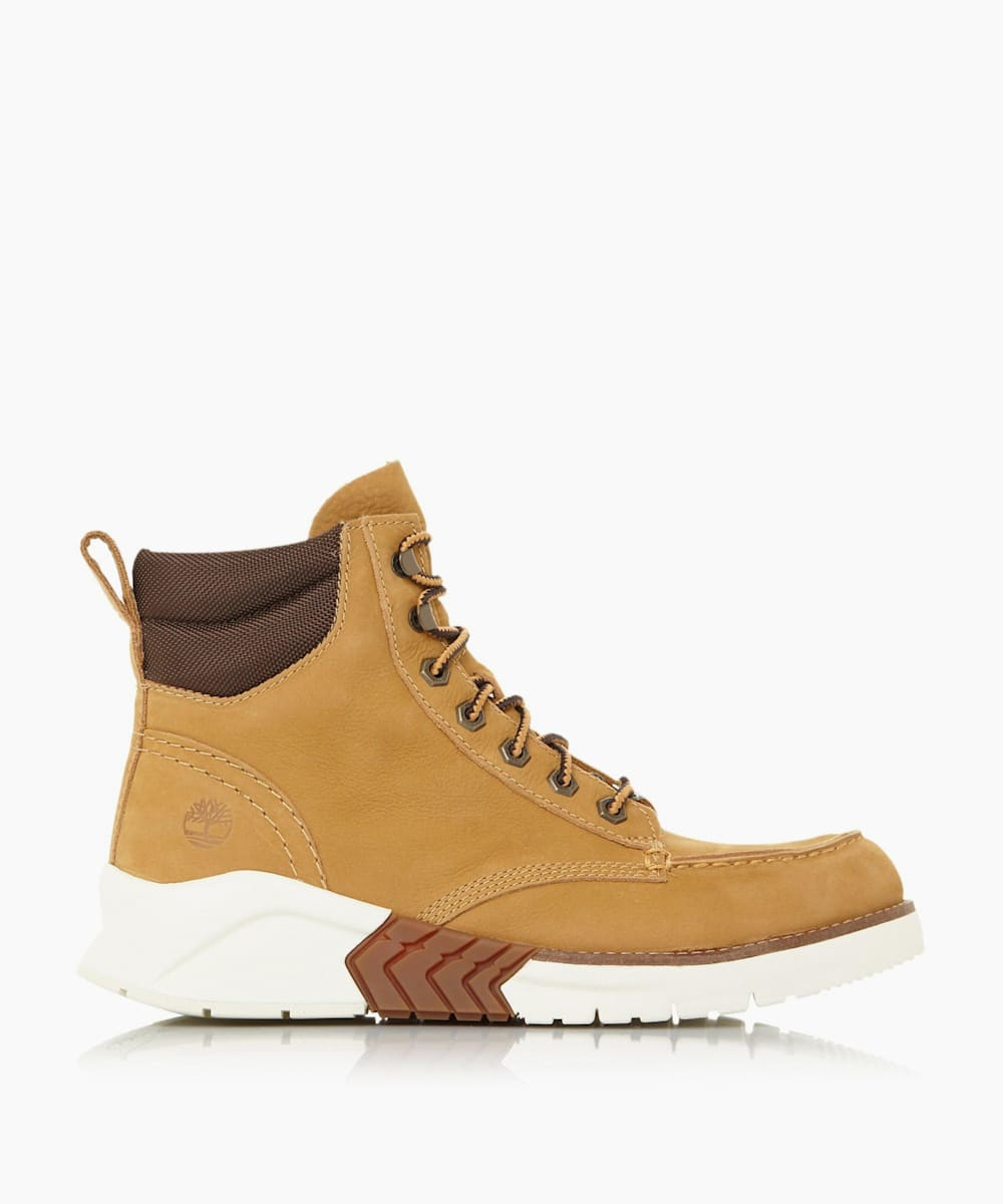 Chunky Sole Lace-Up Worker Boots