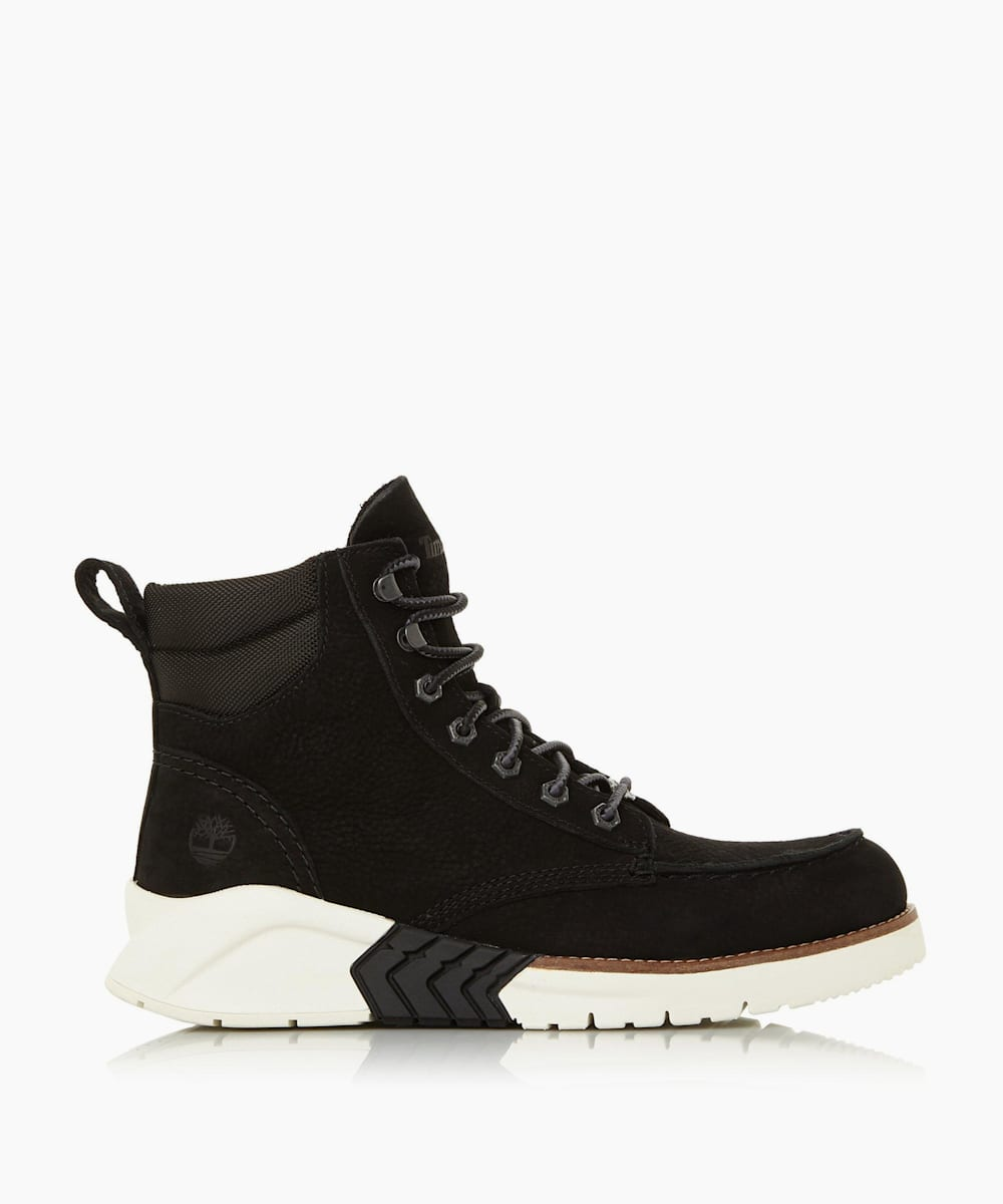 Chunky Sole Lace Up Boots