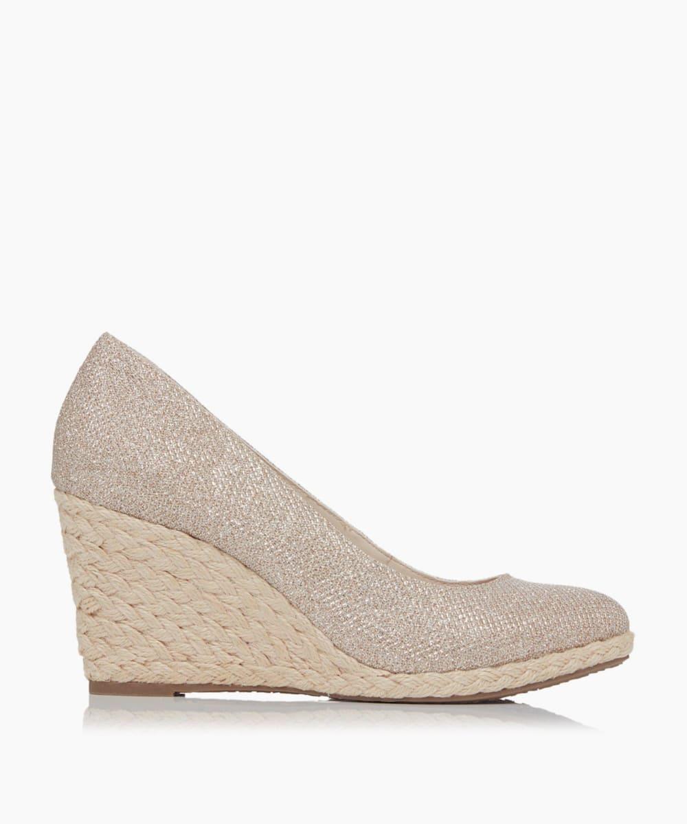 Wedge Heel Espadrille Shoes