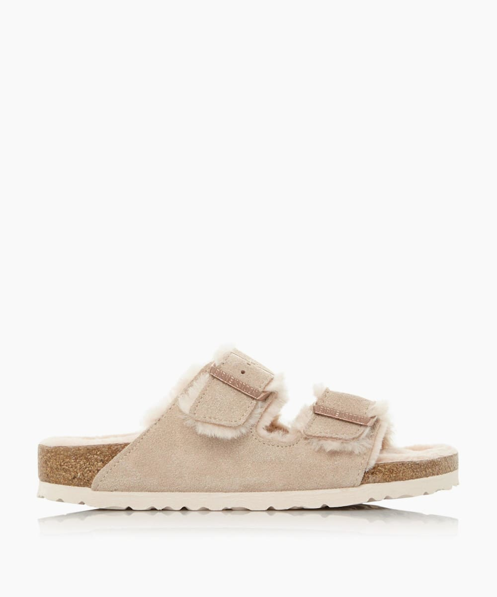 Fluffy Two Bar Mule Sandals