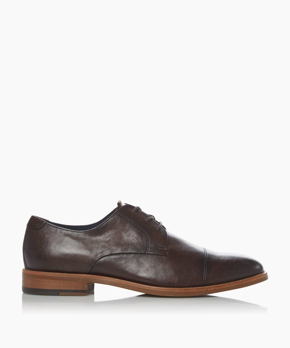 Leather Toecap Casual Shoes