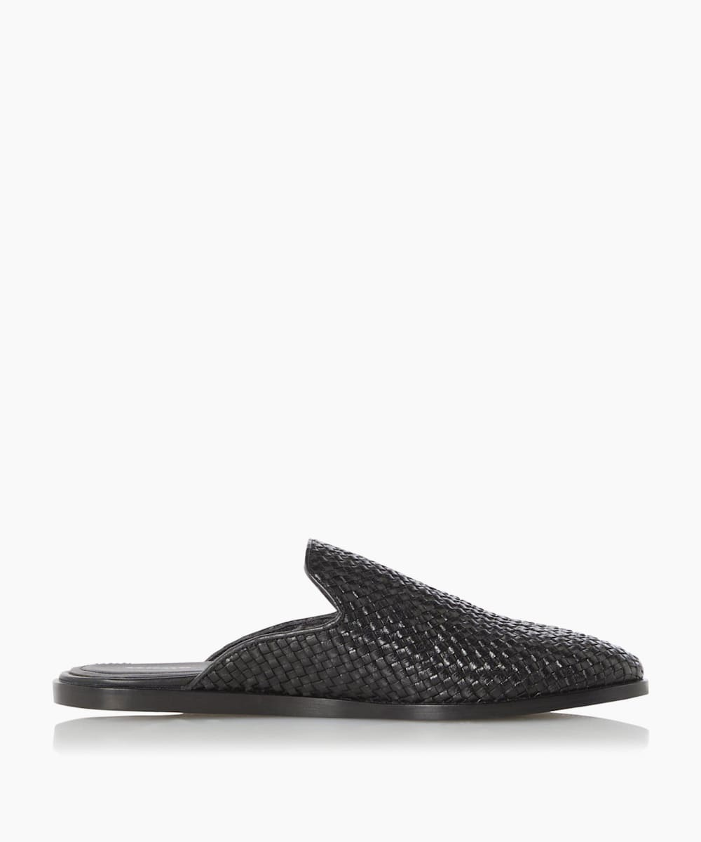 Casual Woven Mules