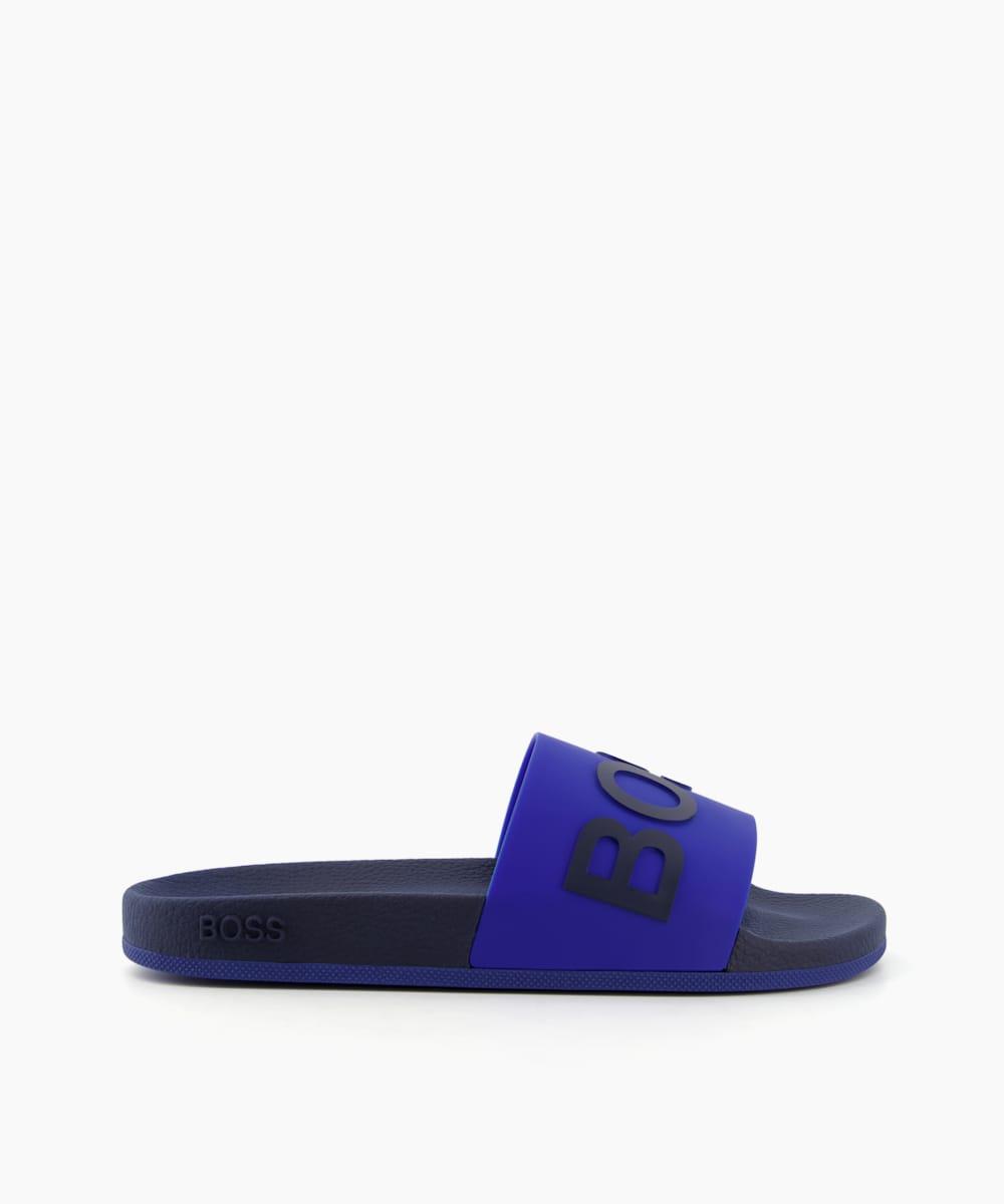 Logo Strap Slide Sandals