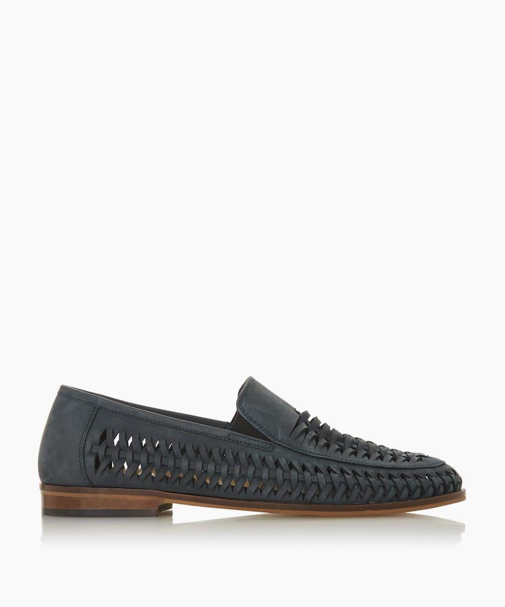 Woven Slipper Cut Loafer