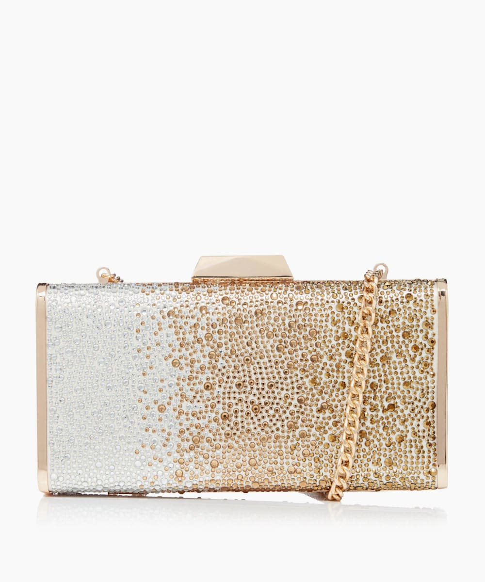 Ombre Diamante Clutch