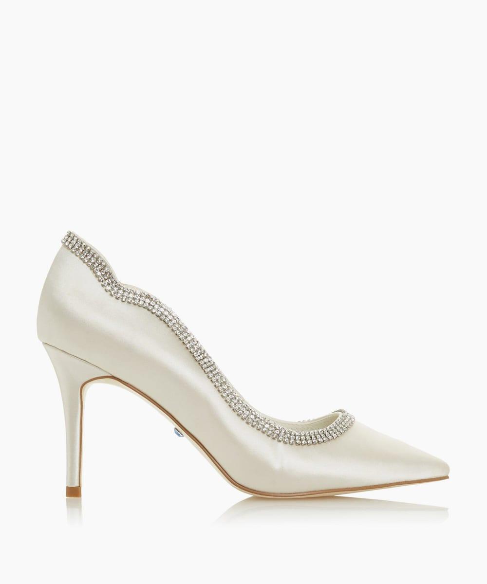 Diamante Embellished Wedding Shoes