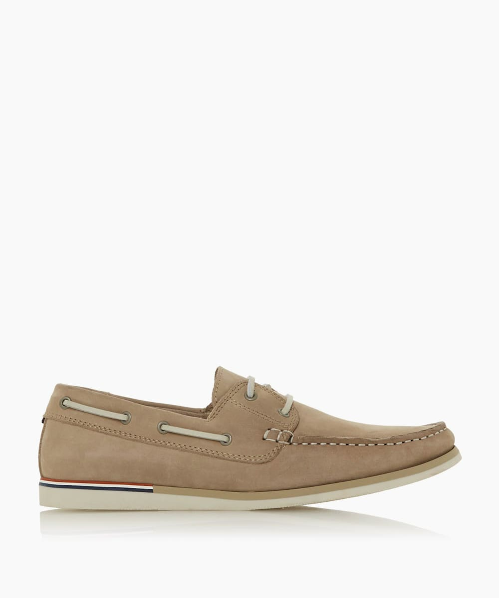 BLAINES - Nubuck Boat Shoes
