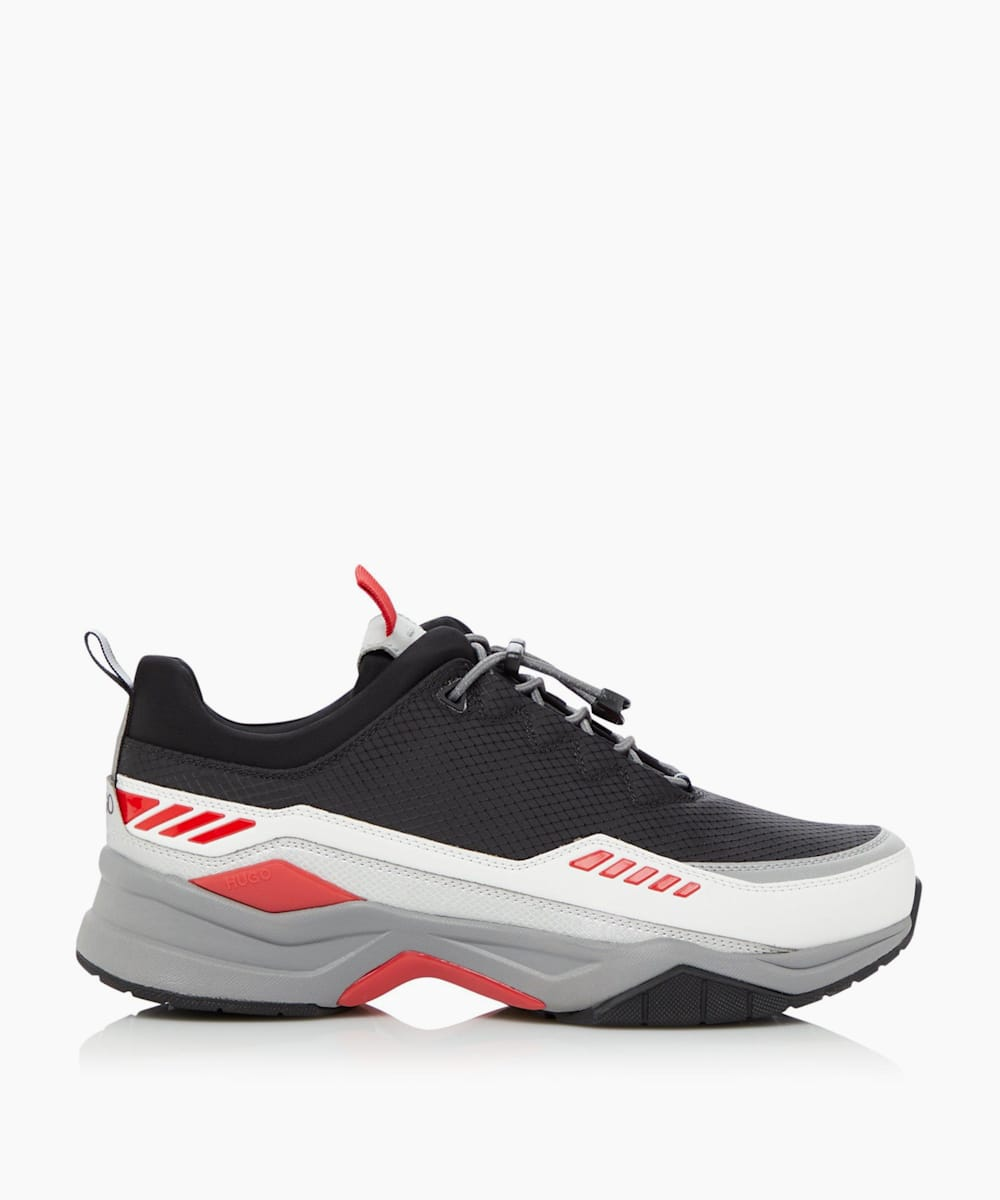 Block Runner Lace-Up Chunky Trainers