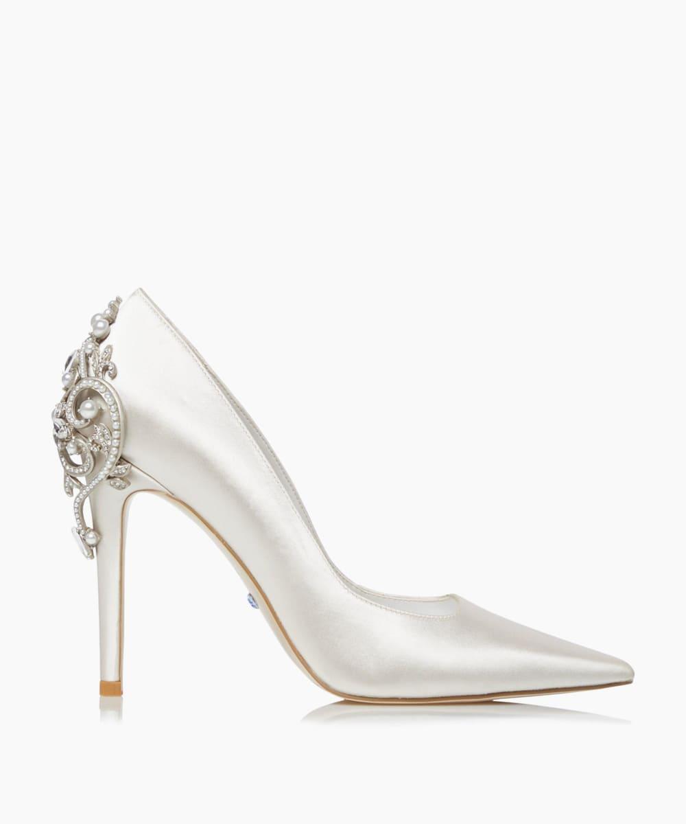 Embellished Court Shoes