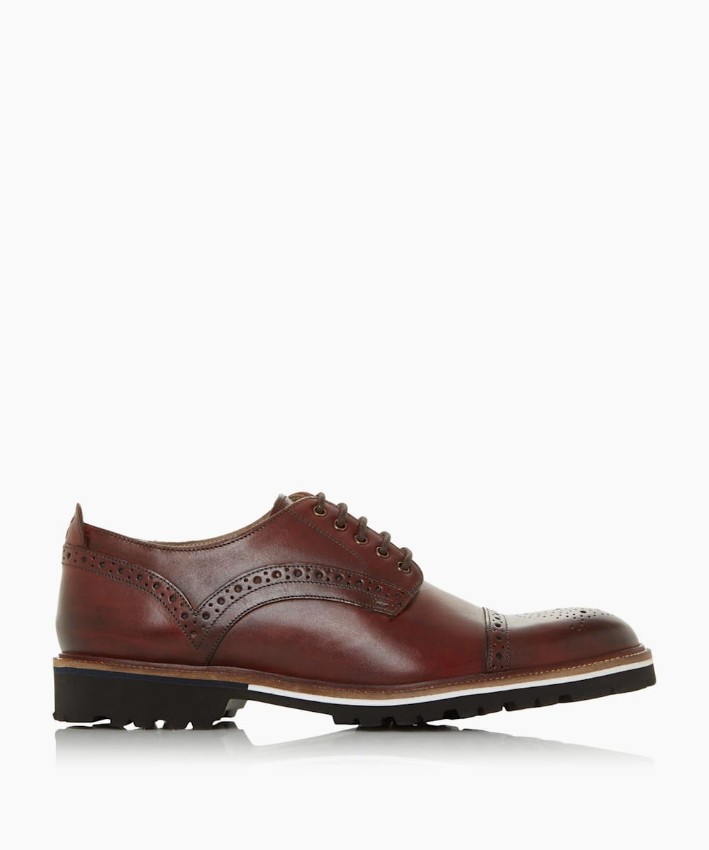 Toe Cap Cleated Sole Brogue