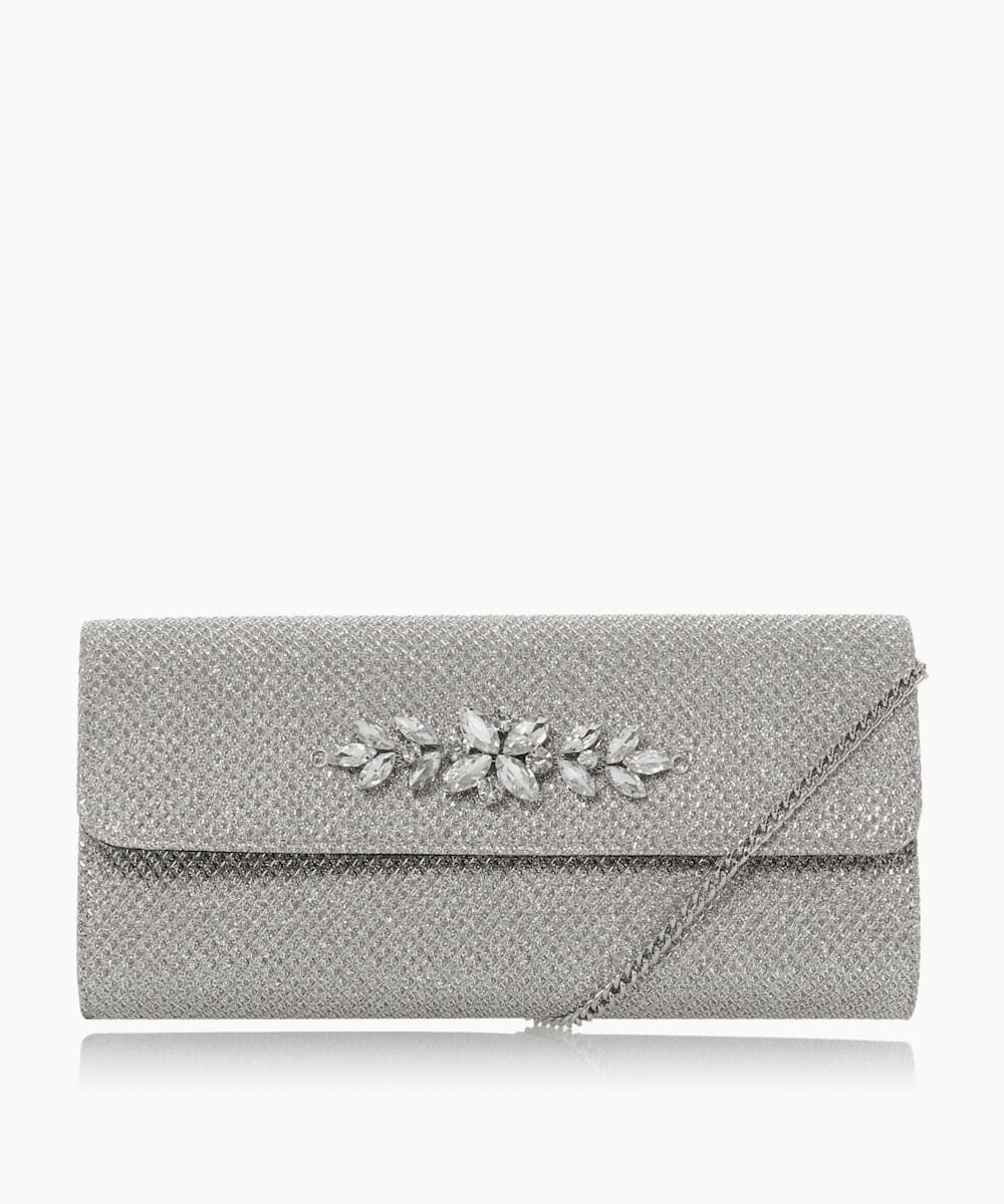 Trim Detail Clutch Bag