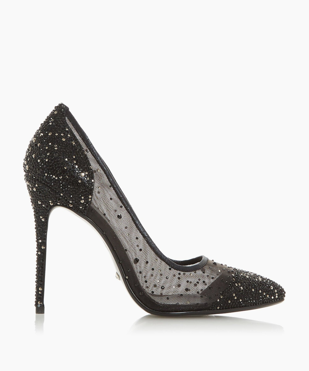 Crystal Embellished Court Shoes