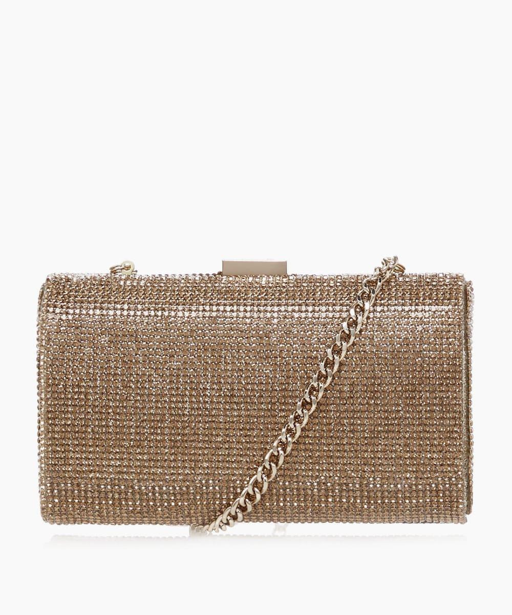 Crystal Embellished Clutch Bag