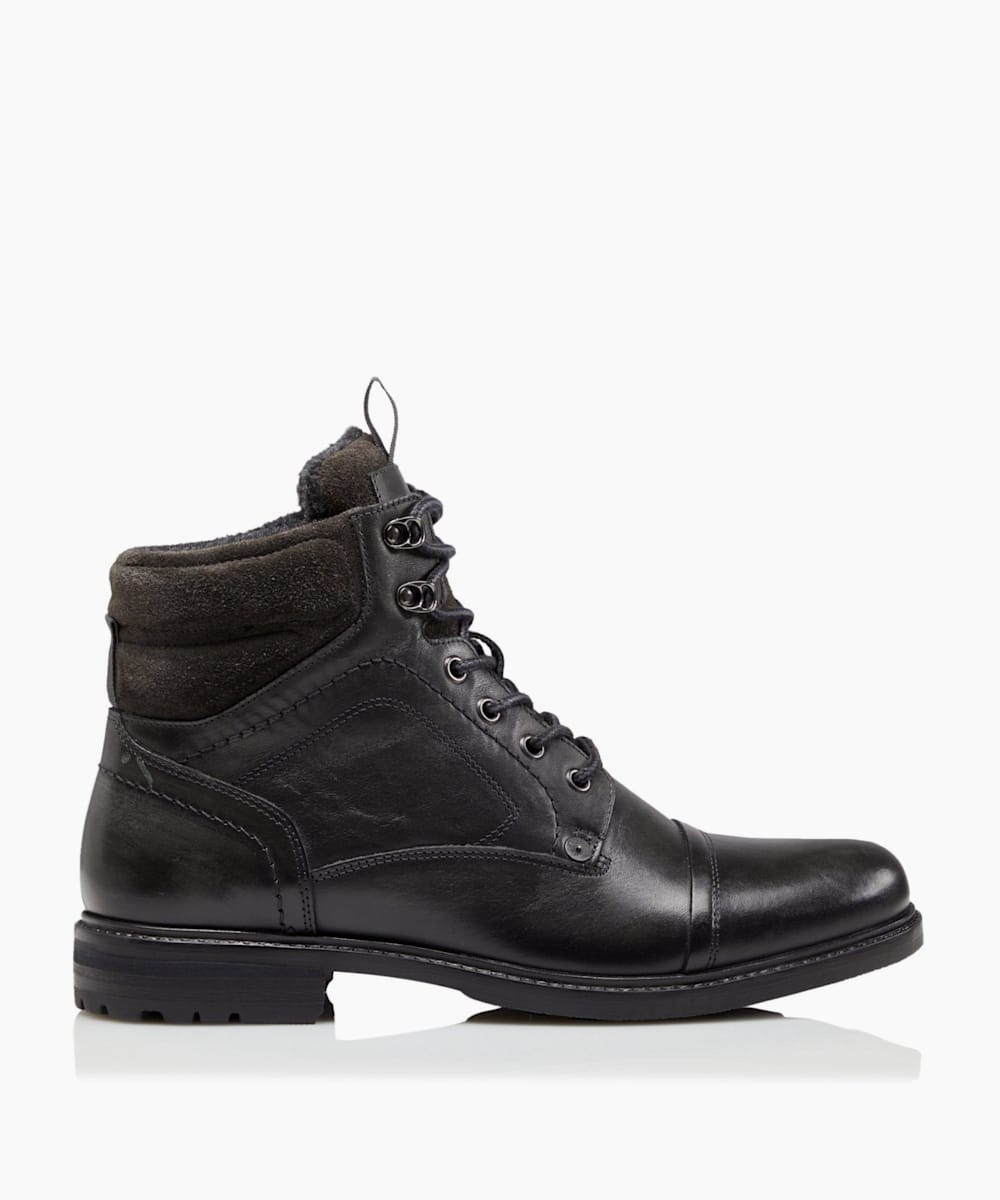 Toe Cap Worker Boots