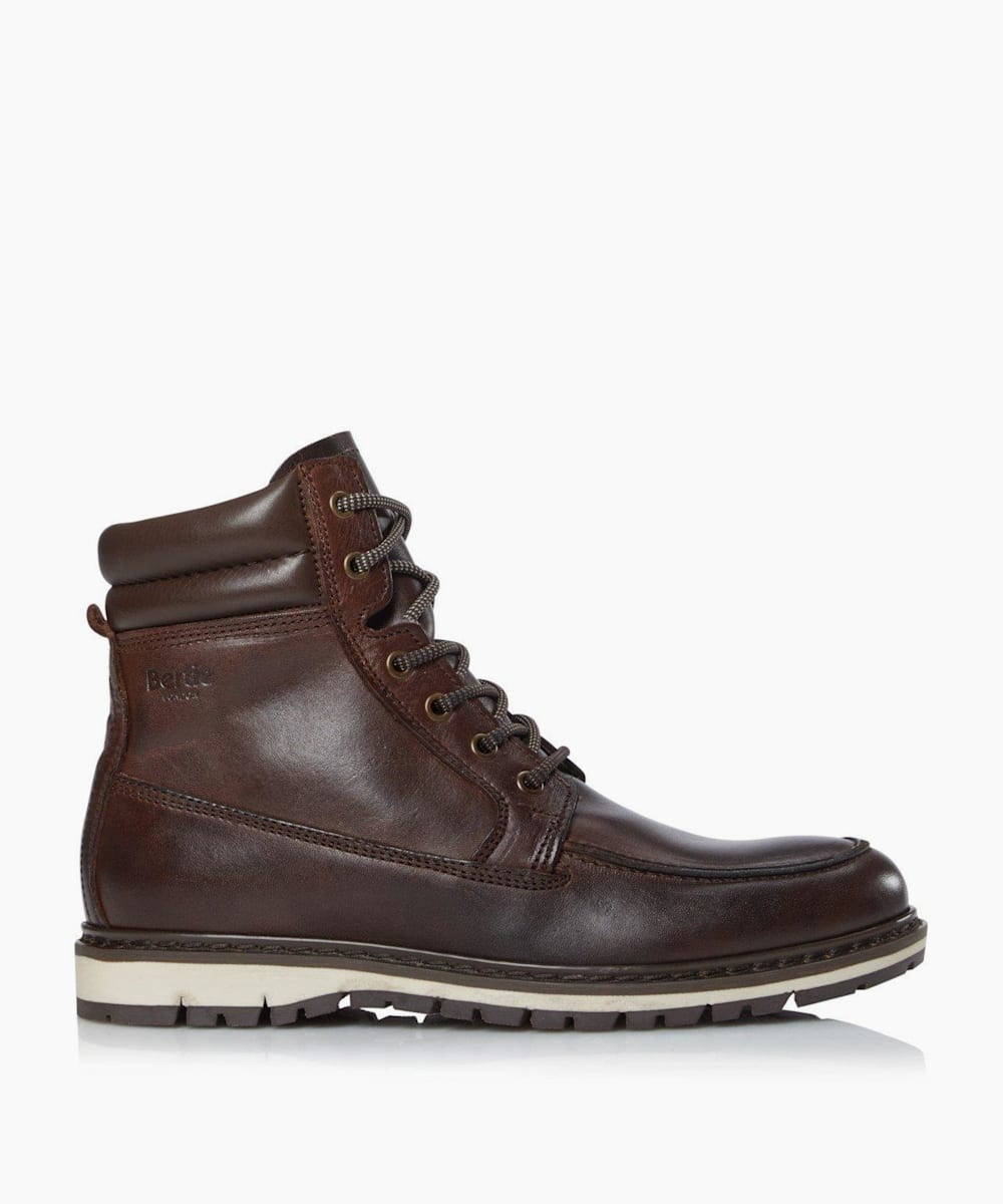 Casual Wedge Lace Up Hiker Boots