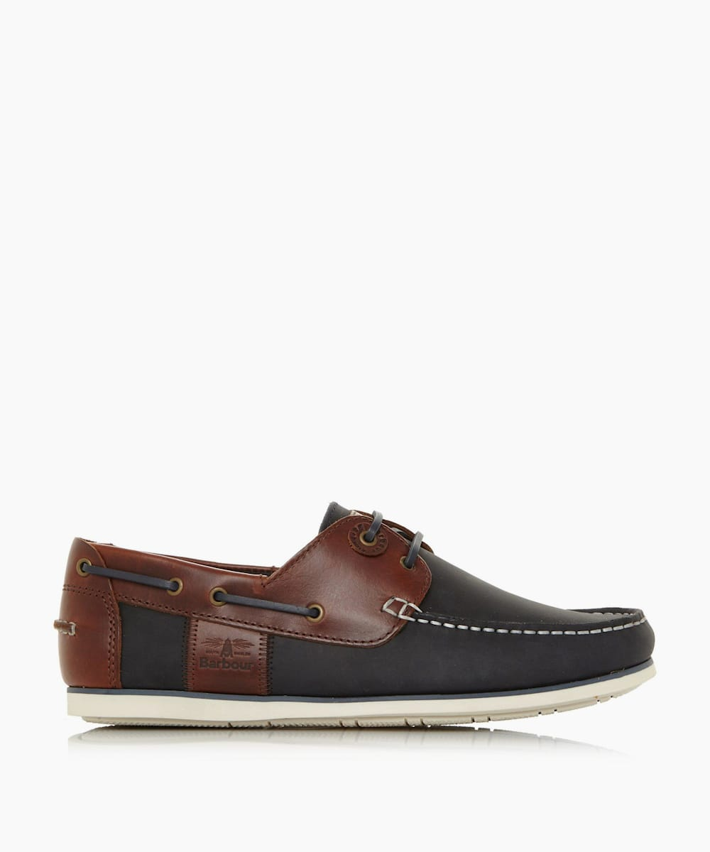 Eyelet Lace Up Boat Shoes