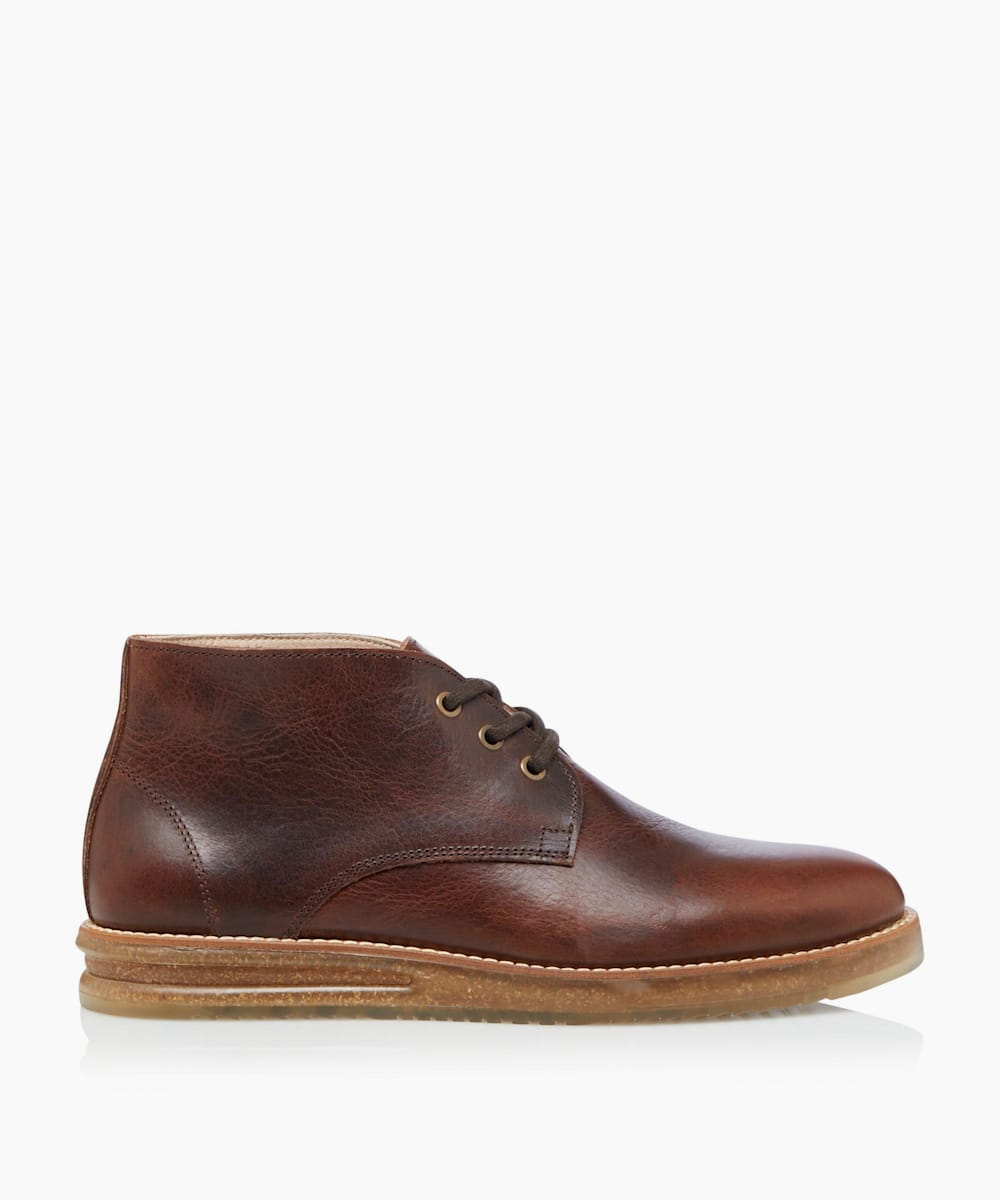 Cork Sole Chukka Boots