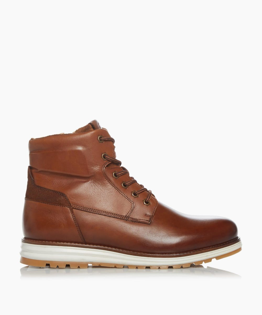Casual Wedge Hiker Boots