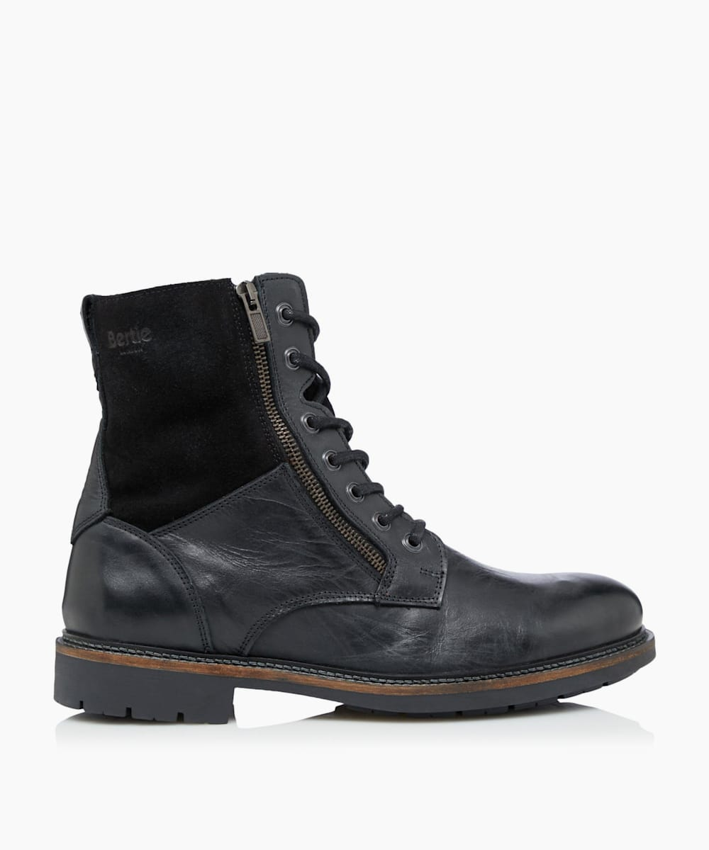 Shearling Worker Boots