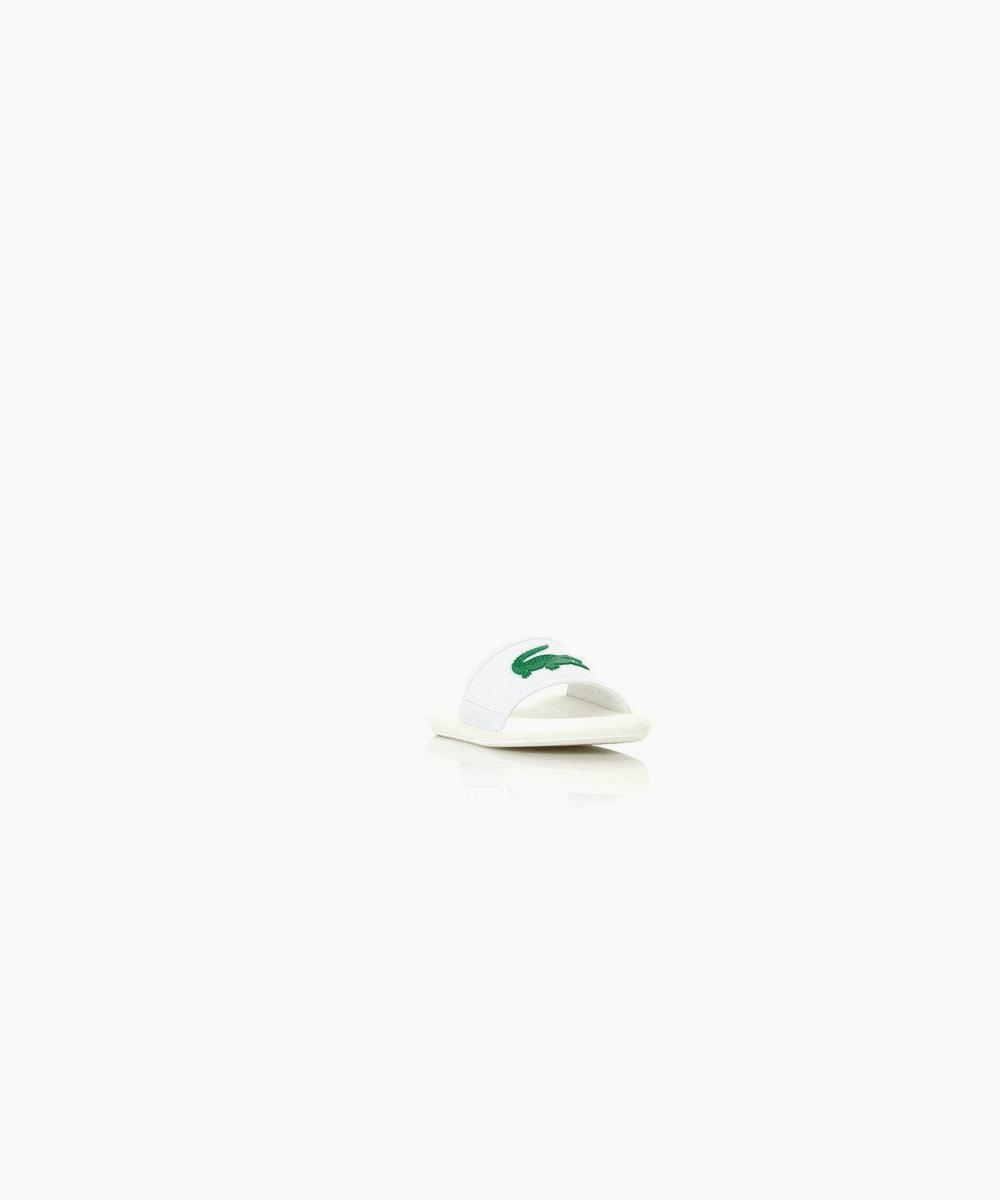 croco slide - white