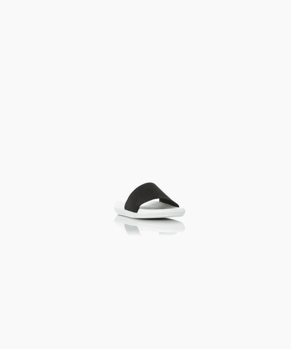 croco slide 1 - black white
