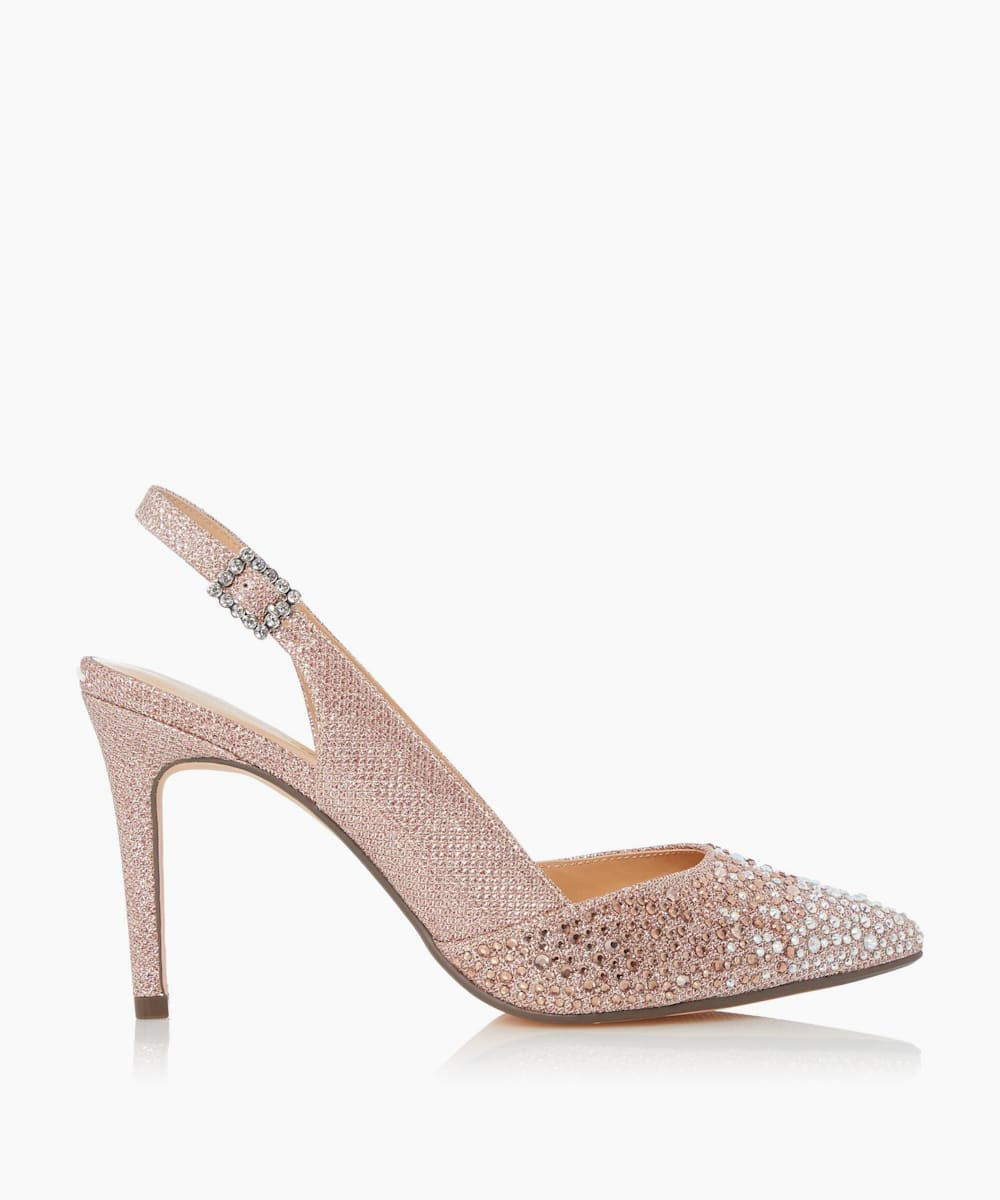 Pointed Toe Court Shoes