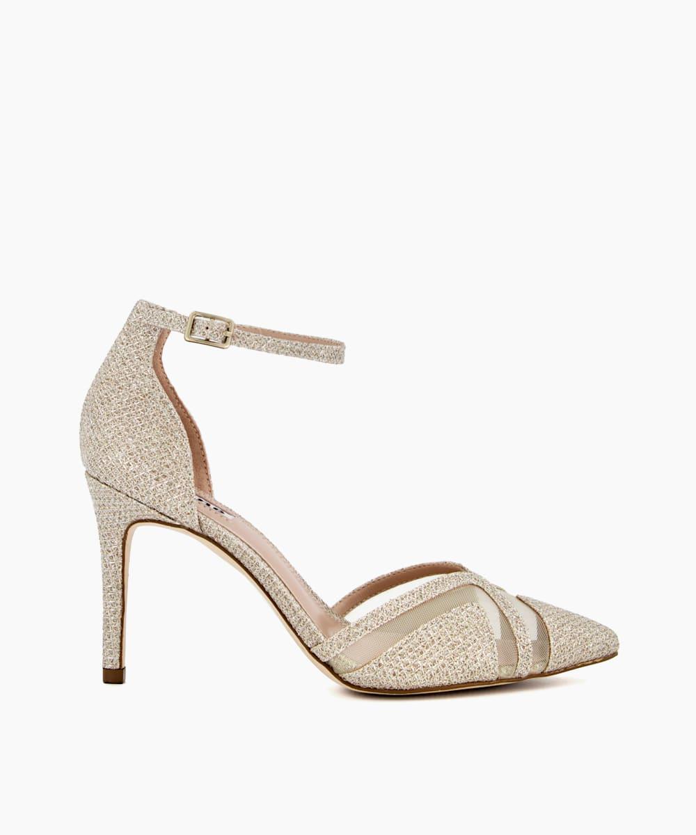 Embellished Court Heels