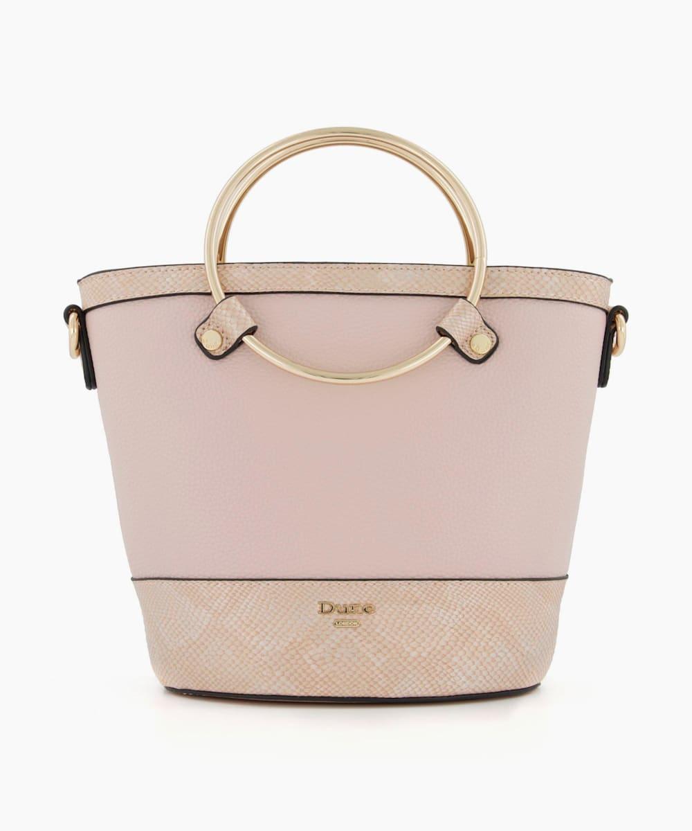 Circle Handle Shopper Bag