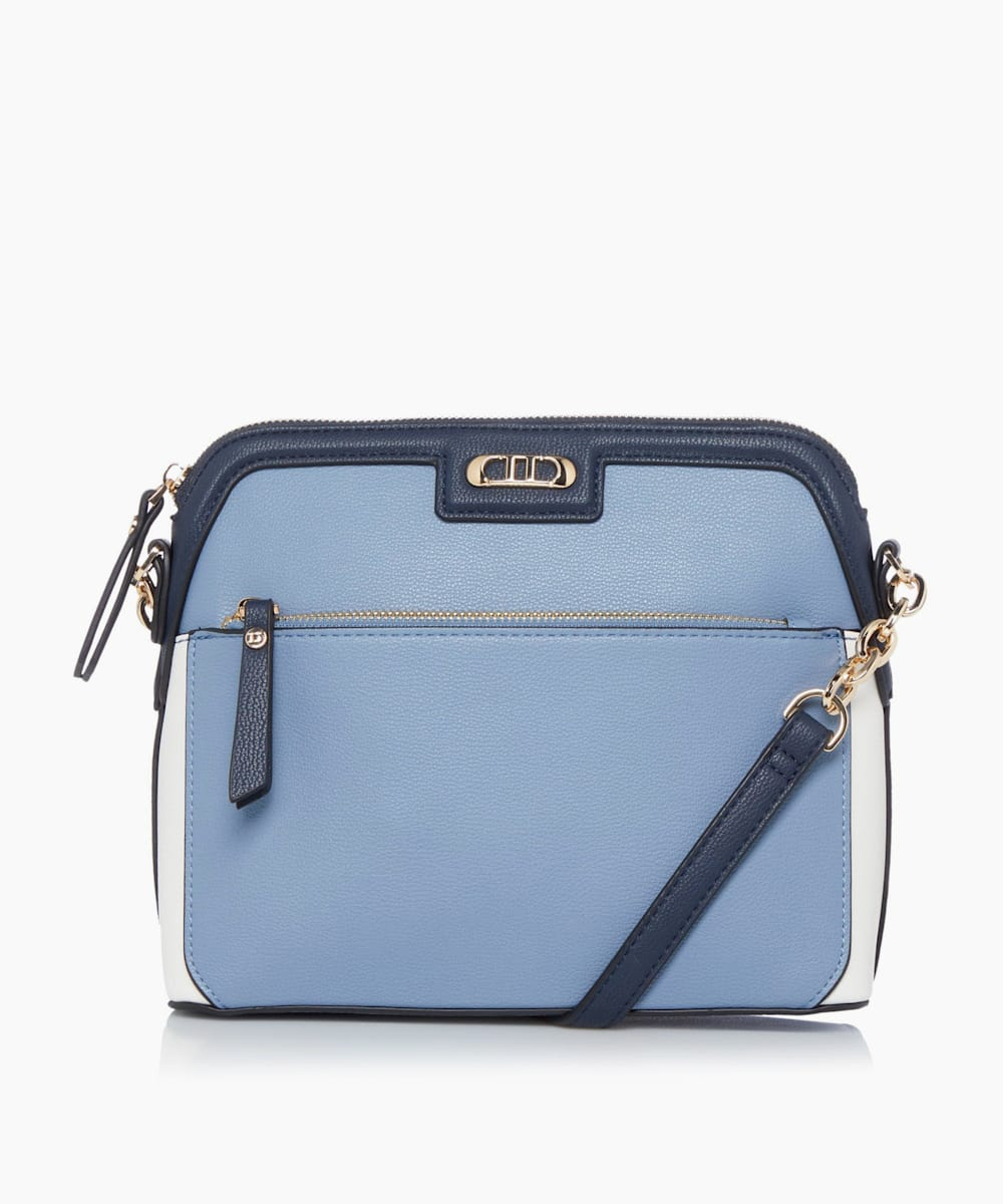 Colour Block Cross-body Casual Bag