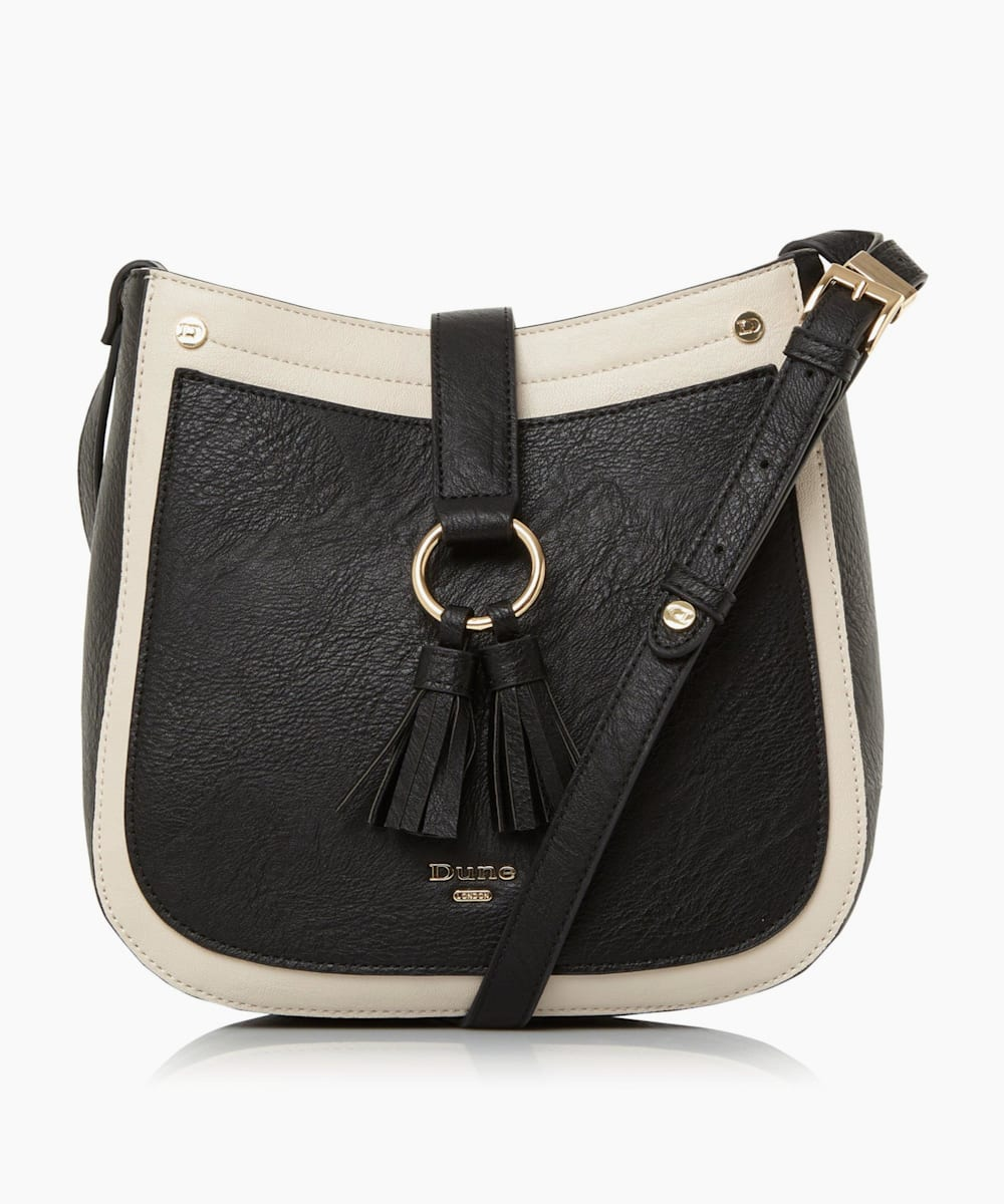 Small Double Tassel Cross Body Bag