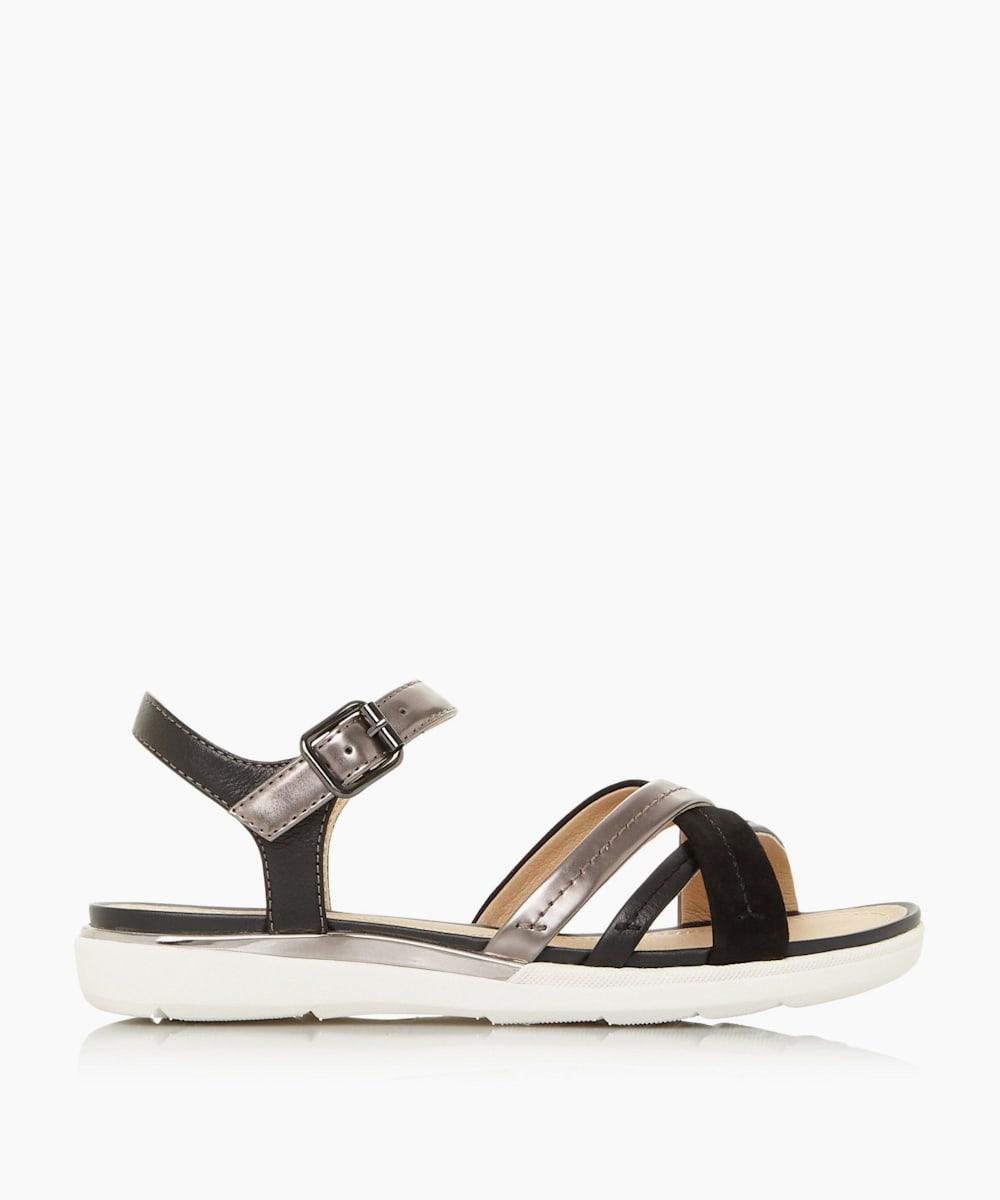 Cross Over Strap Sandals