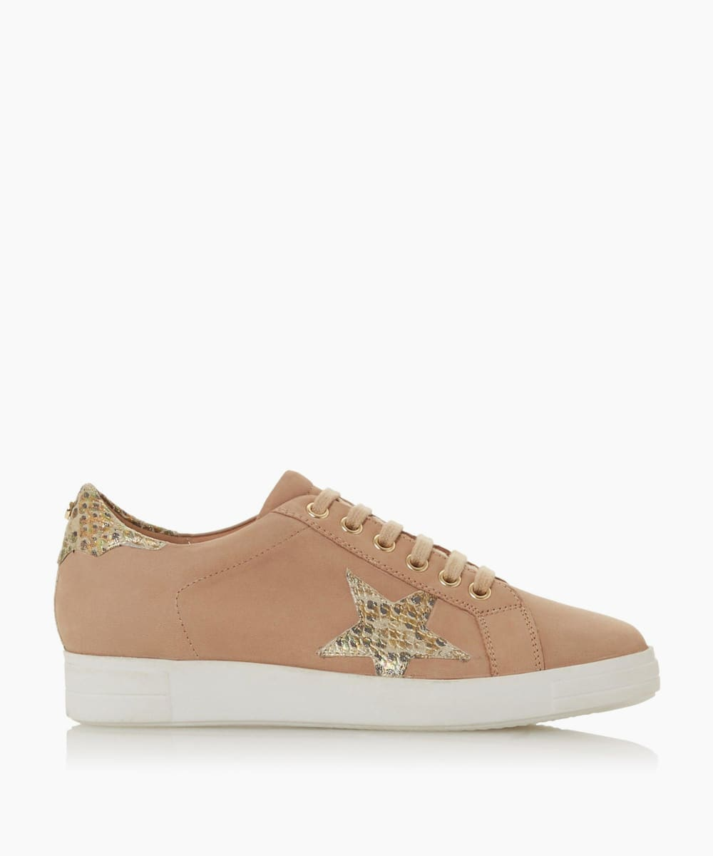 Star Lace Up Trainers