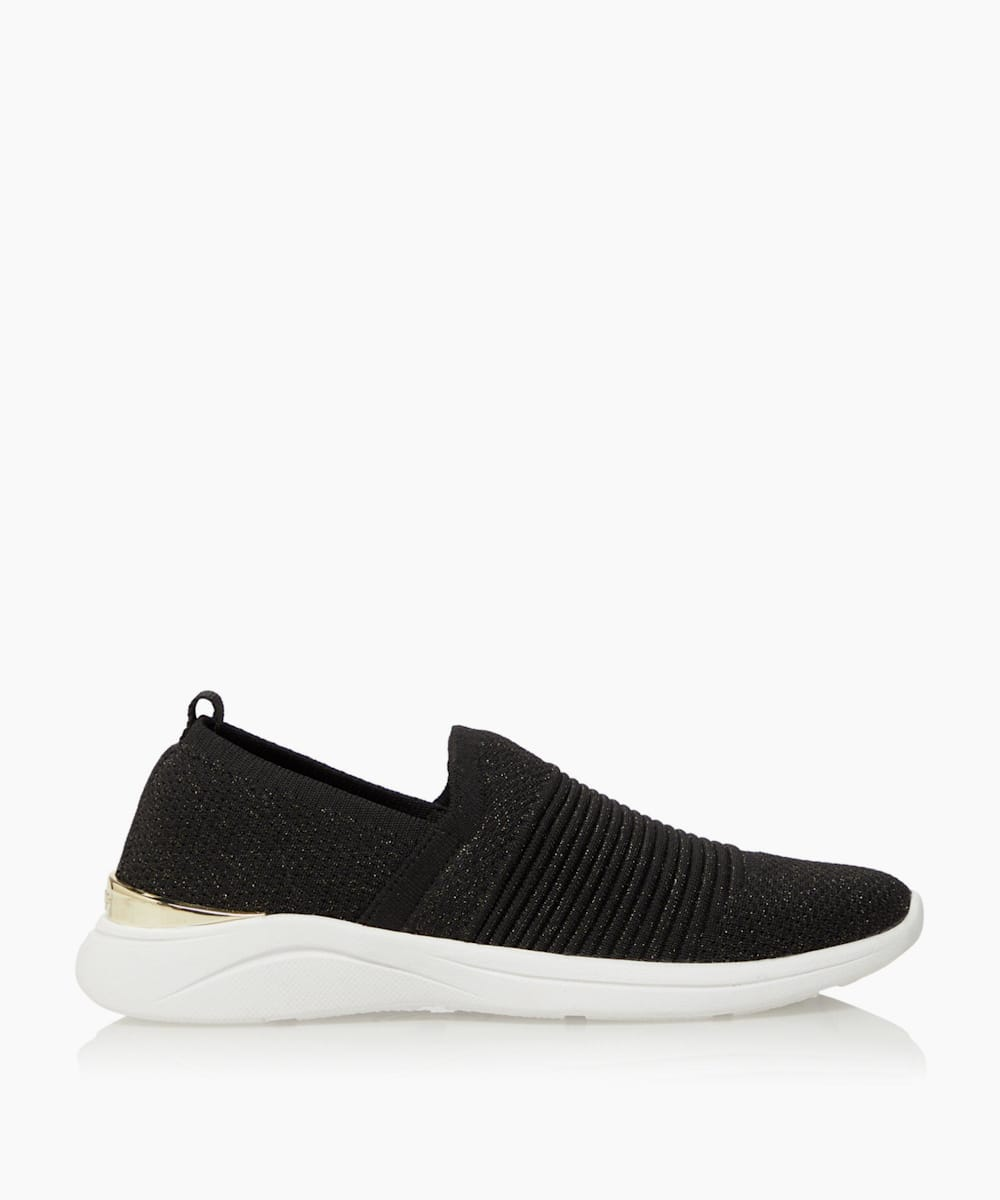 Woven Slip-On Trainers