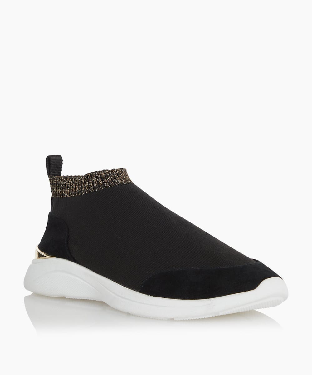 Mix Material Sock Trainers