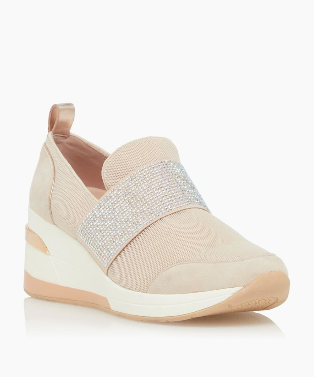 Wedge Slip-On Trainers