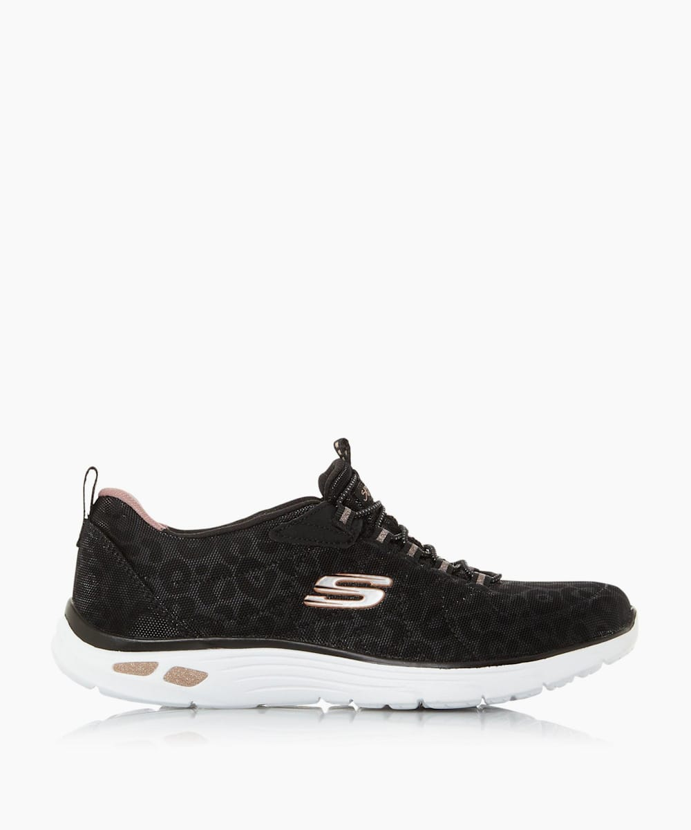Bungee Lace Up Trainers