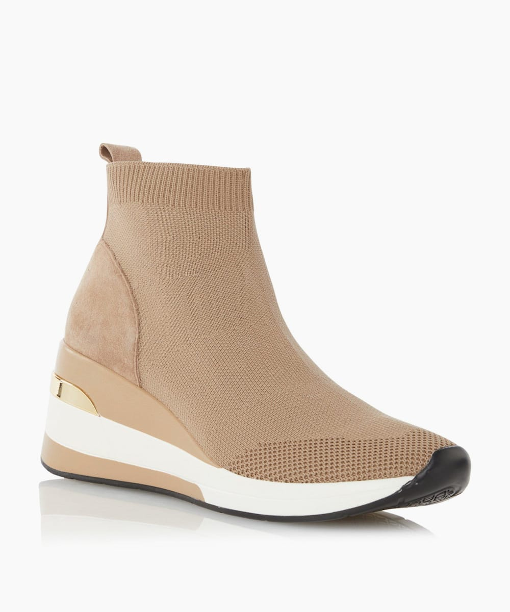Mid Wedge Sock Trainers