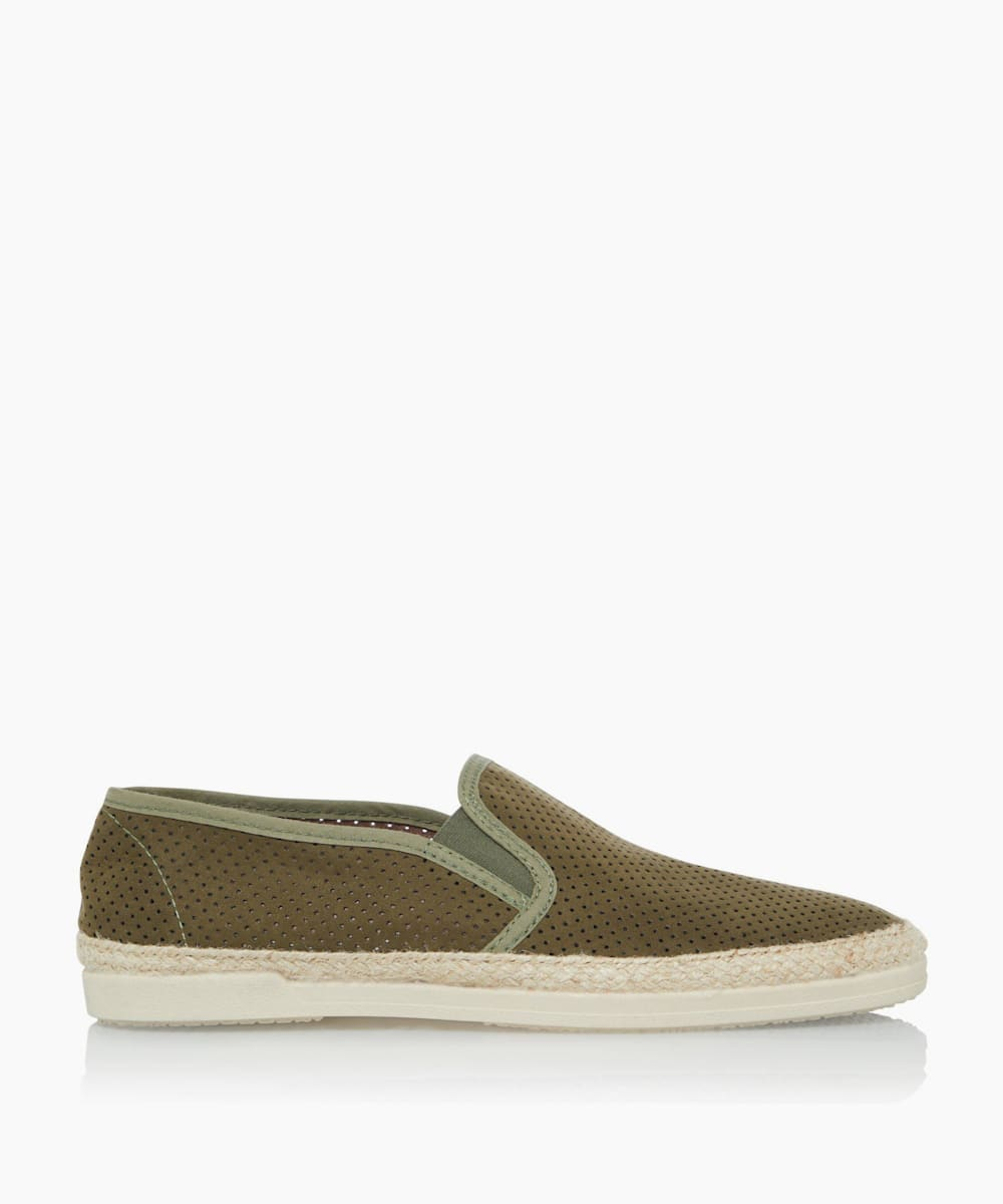 Perforated Upper Espadrilles