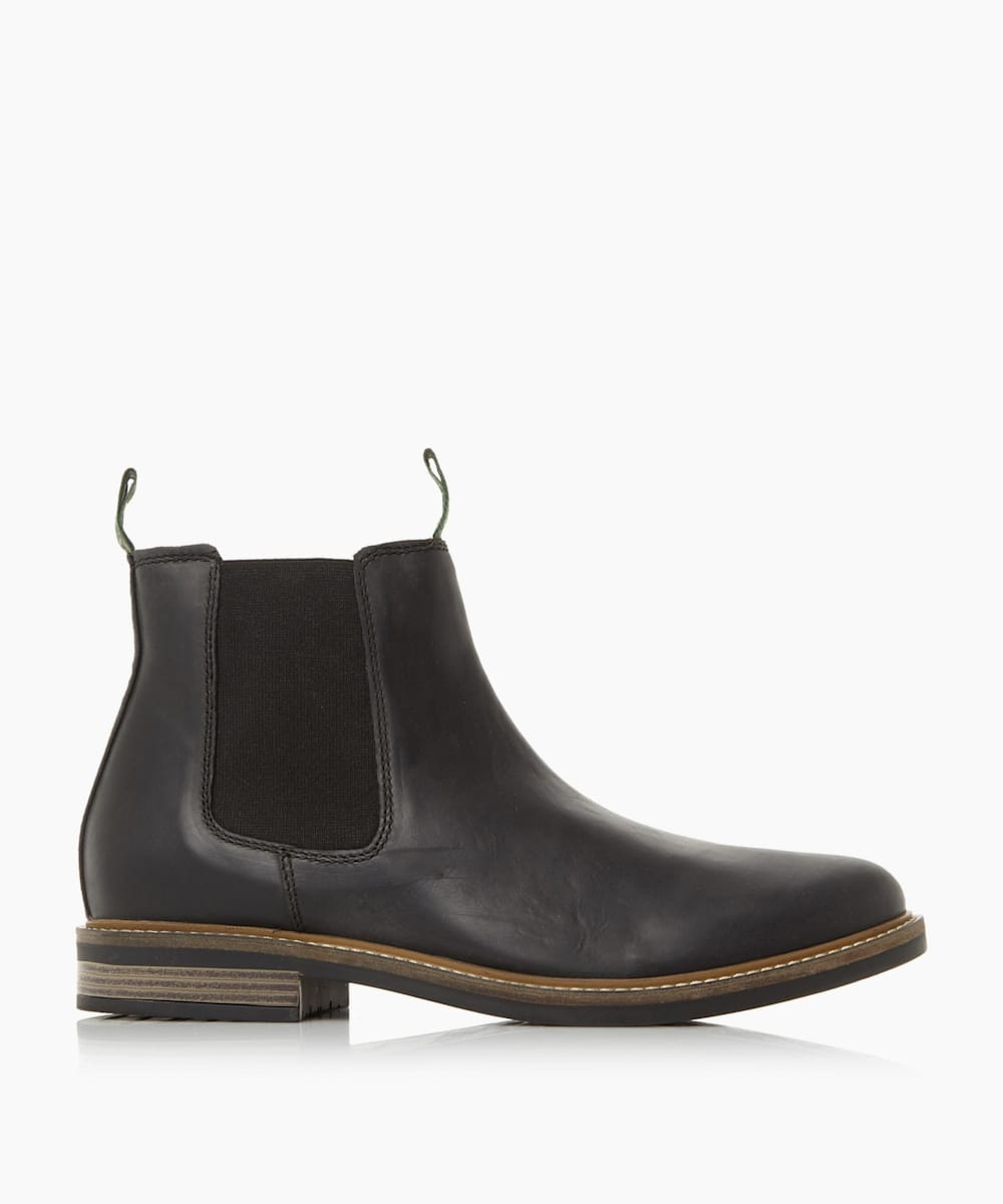 Natural Sole Chelsea Boots