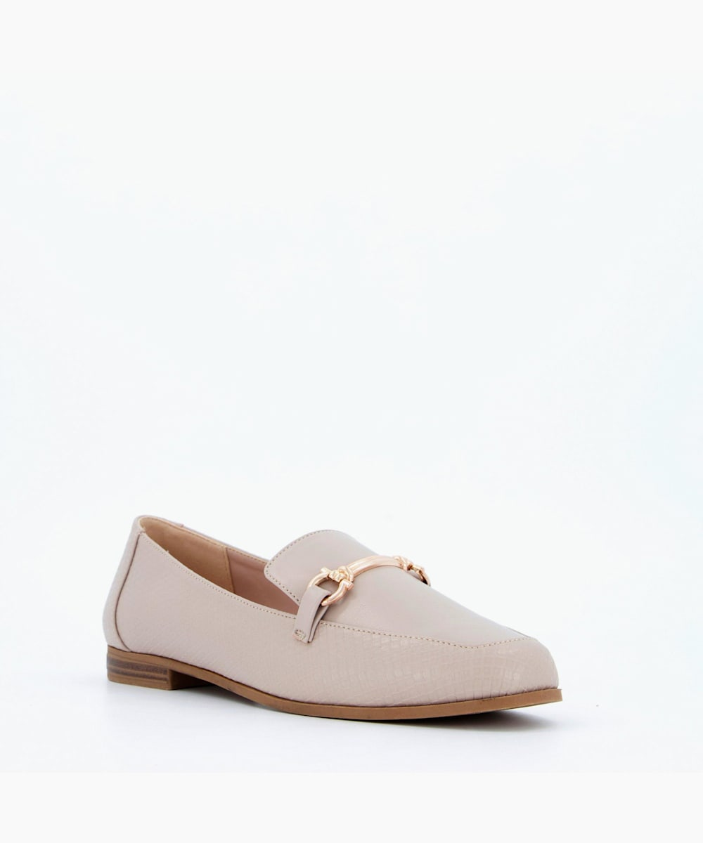 Trim Detail Loafers
