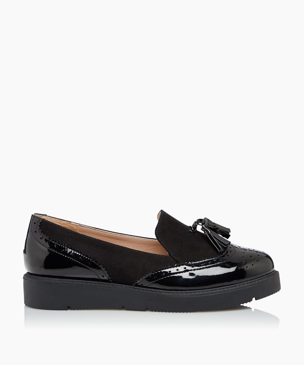 Flatform Tassel Loafers