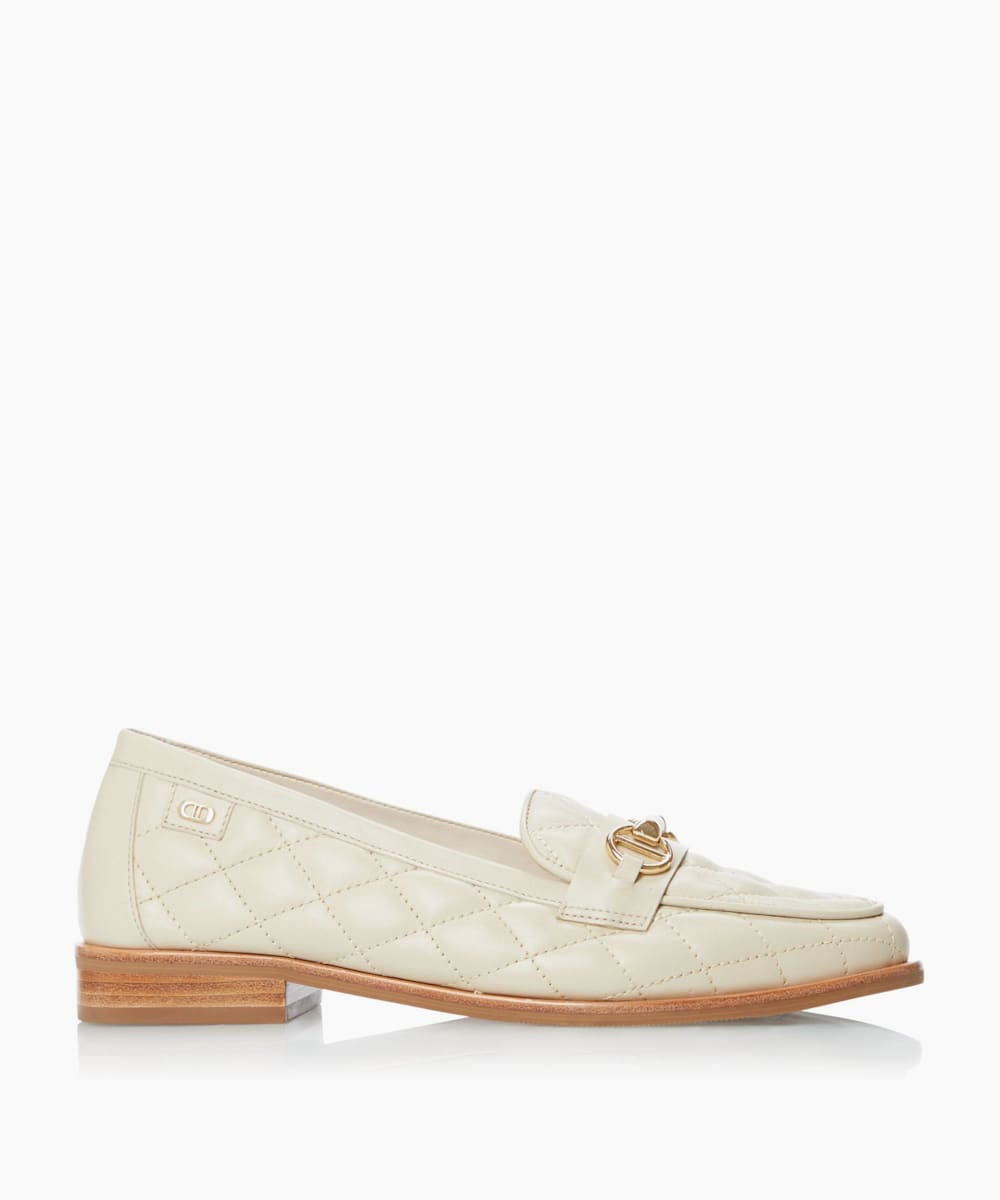 Quilted Snaffle Loafers