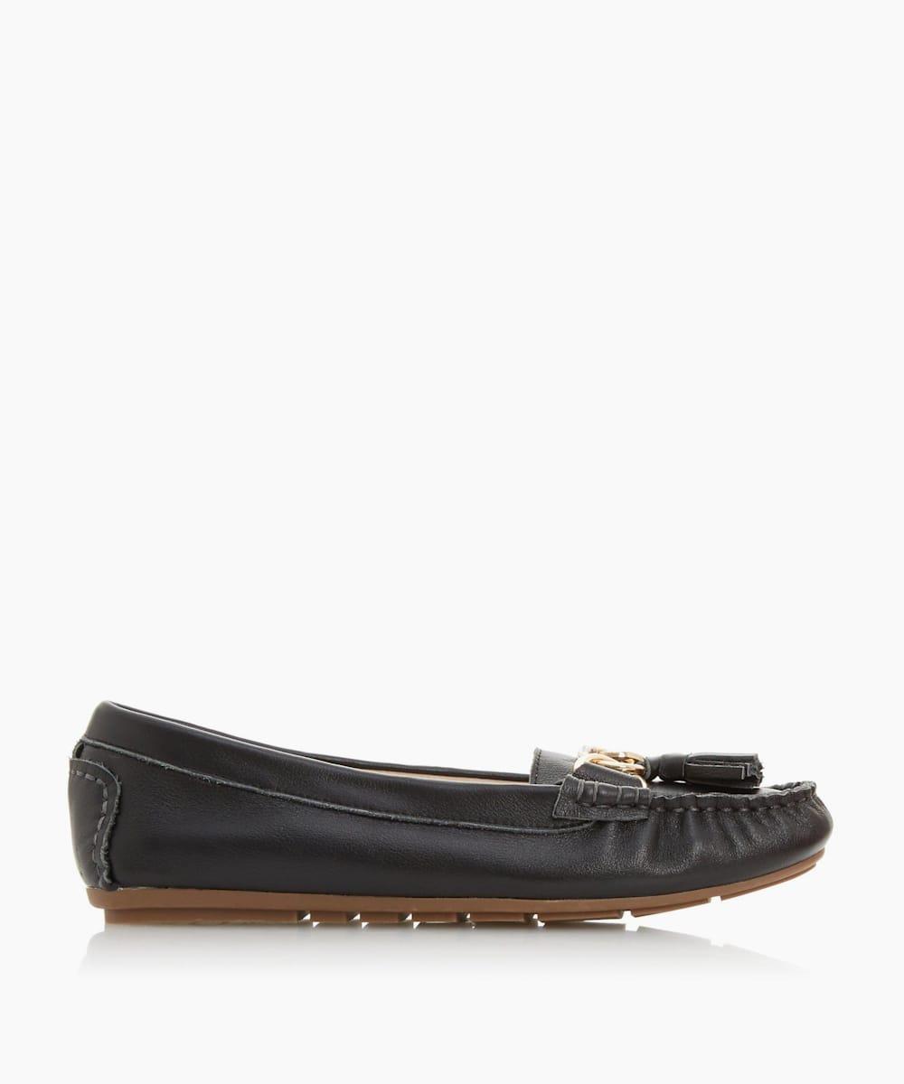 Tassel Detail Moccasin Loafer
