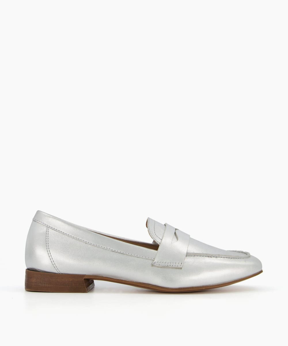 Unlined Penny Loafers