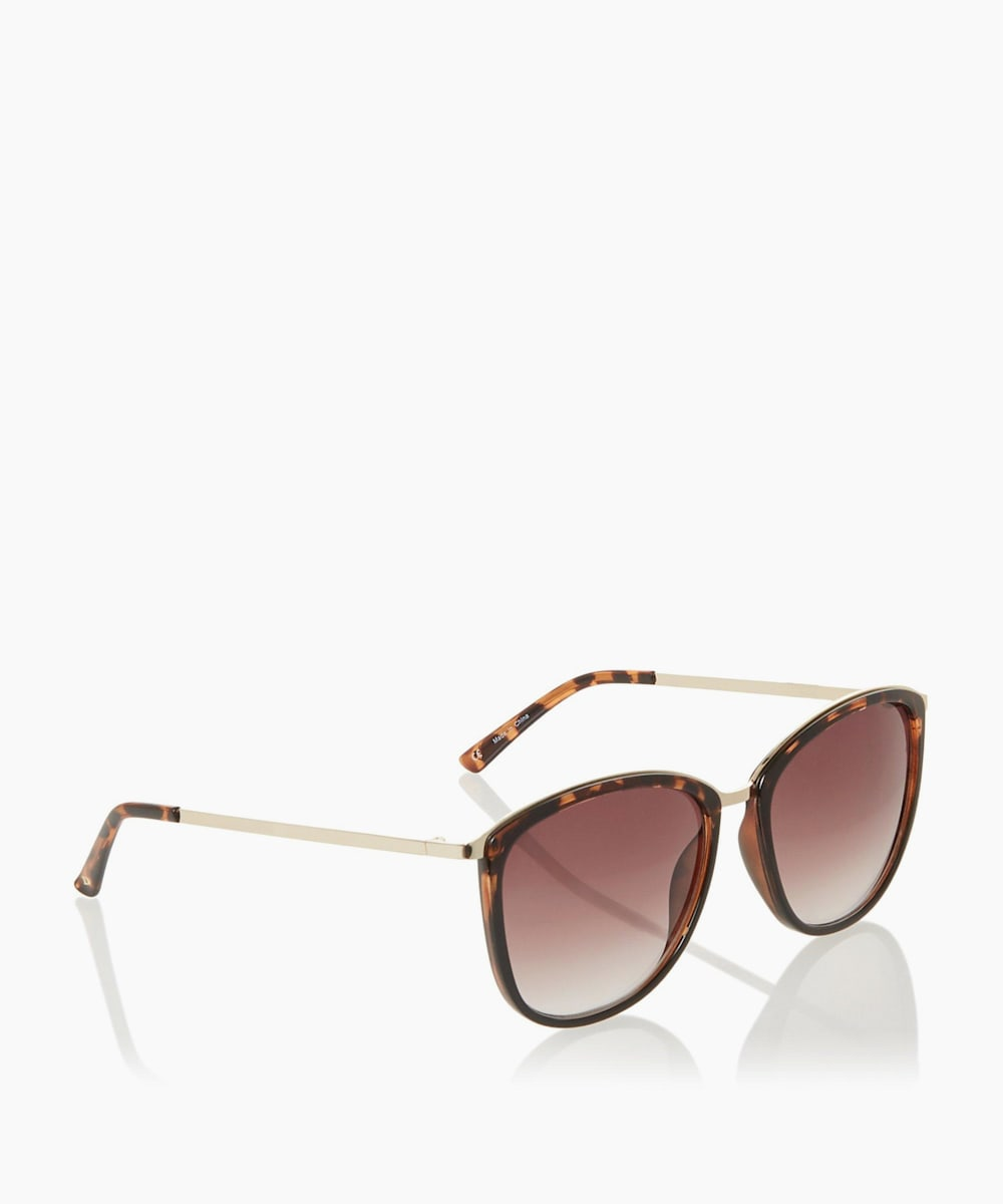 Cat Wayfarer Frame Sunglasses