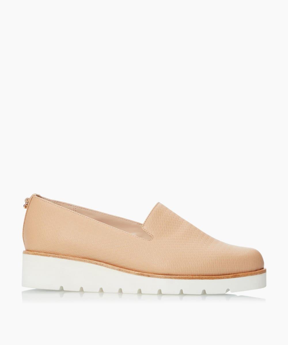 Slipper Cut Flatform Shoes